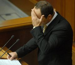 Serhiy Tigipko during the sitting of the Verkhovna Rada of Ukraine. Kyiv, October 7