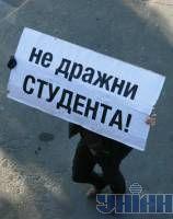 Студенты КПИ пикетируют Табачника