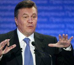 Віктор Янукович під час прес-конференції, присвяченій підсумкам року. Київ, 21 грудня