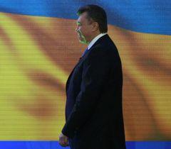 Виктор Янукович во время пресс-конференции, посвященной итогам года. Киев, 21 декабря
