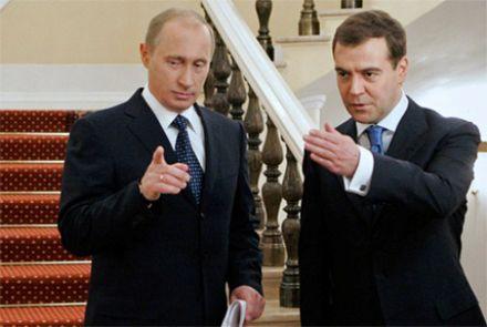 Путин предложил Госдуме сделать Медведева преьером