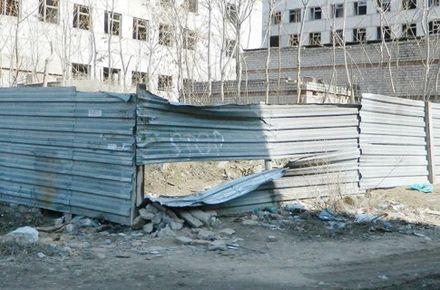 Будівництво, де була виявлена Оксана Макар. Фото: novosti-n.mk.ua