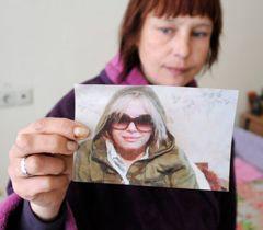 Мать Оксаны Макар  в выделенной ей палате в Институте неотложной хирургии имени Гусака в Донецке. 22 марта