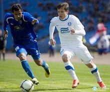 Игровой момент матча Таврия - Днепр. Фото с сайта днепрян