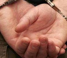 Насильника задержали и доставили в дежурную часть
