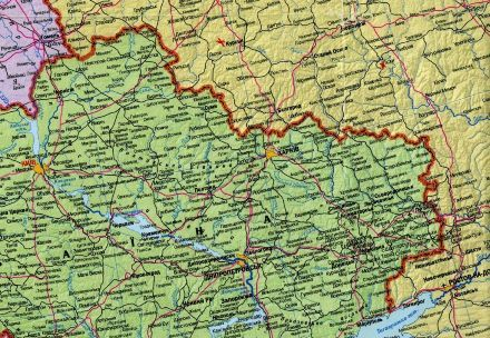 Украинско-российская граница