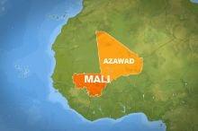 Территория, объявленная независимой, составляет больше половины Мали. Рисунок с сайта Аль-Джазира