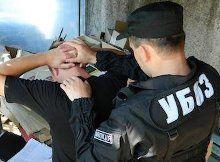 Хабарника затримали співробітники УБОЗ, фото з сайту donbass.ua