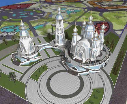 Проект кафедрального собора УПЦ КП в Симферополе, фото с сайта Центр
