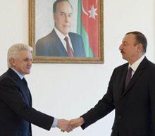 Владимир Литвин и Ильхам Алиев