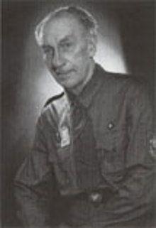Педагог, биолог, основатель Пласта Александр Тисовский (1886-1968), фото с сайта plast.org.ua