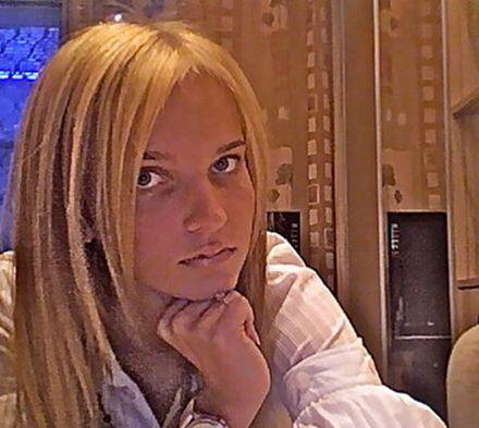 """Дочь депутата Харьковского райсовета Кристина Рожанская. Фото: """"Одноклассники"""""""