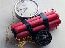 В одном из банков Днепропетровска произошел взрыв неизвестного устройства