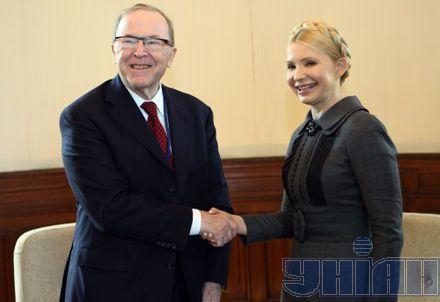 Вильфред Мартенс, Юлия Тимошенко