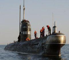 Подводная лодка ВМС Украины «Запорожье» в Севастополе