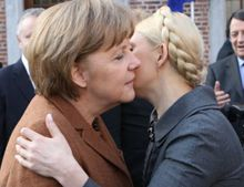 Меркель, Тимошенко