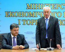 Петр Порошенко, Николай Азаров