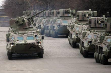 Украина поставит Казахстану 100 БТР-4