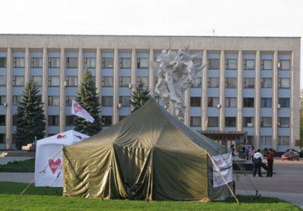 Хмельницкие голодающие, Фото vsim.ua