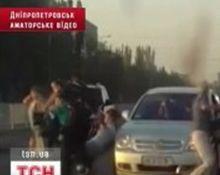 Свидетели сняли ДТП на видео