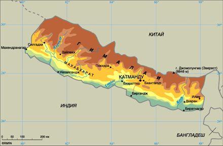 В Непале произошел оползень, который забрал с собой троих украинцев