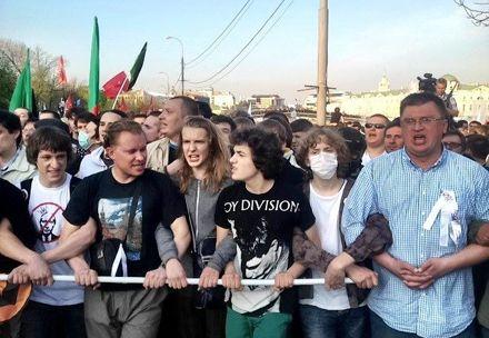 Российская оппозиция на Болотной. Фото из микроблога Данилы Линдэле