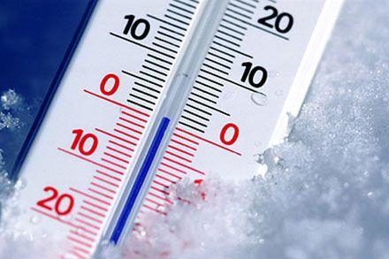 Температура опустится до +1