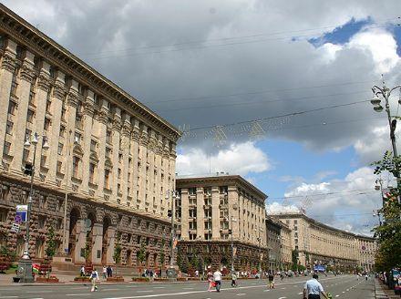 Центр Киева перекроют из-за празднований