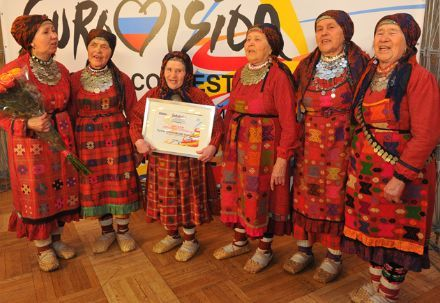 Русские бабушки испекут на сцене пирог