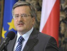 Коморовский выступил за создание польской ПРО