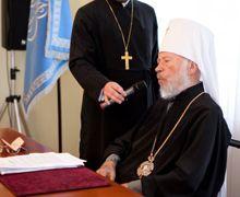 Митрополит Владимир на Священном Синоде
