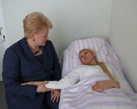 Грібаускайте Тимошенко. Фото з сайту president.lt