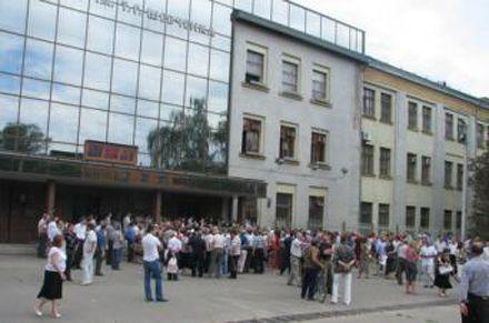 Люди скандують «Добкін згадай свої обіцянки», фото slk.kh.ua