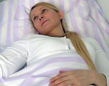 У Тимошенко 50% кожи поражено неизвестным заболеваниям