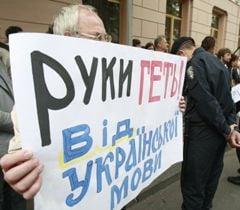Акция в поддержку украинского языка возле Верховной Рады. Киев, 24 мая