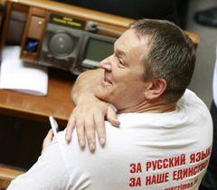 Вадим Колесніченко, який є одним з авторів мовного законопроекту, в залі засідань ВР. Київ, 25 травня