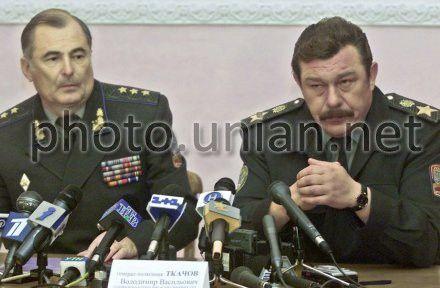 Кузьмук на пресс-конференции по поводу гибели Ту-154