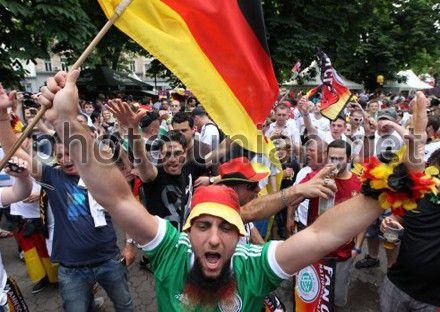 Немецкие фаны