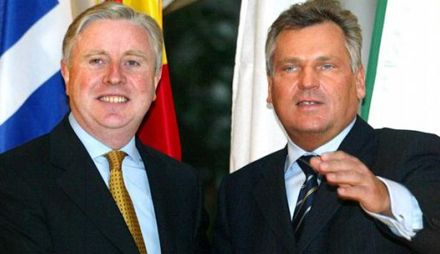 Кокс и Квасьневский встречаются с Януковичем?