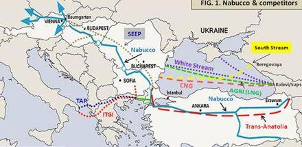 Трансанатолийский газопровод (TANAP)
