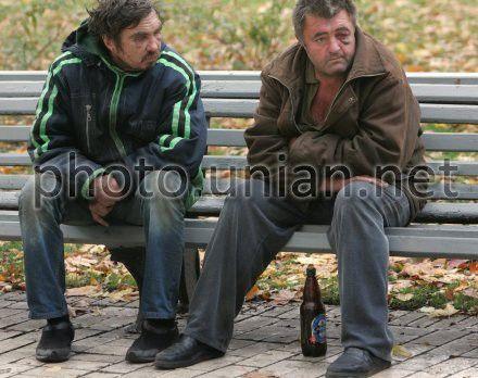 Донецьких бомжів сховали від очей іноземців