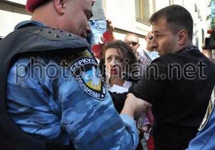 Сергея Мельниченко задержали беркутовцы