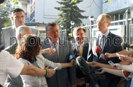 Переговоры Объединенной оппозиции с Кличко прекращены