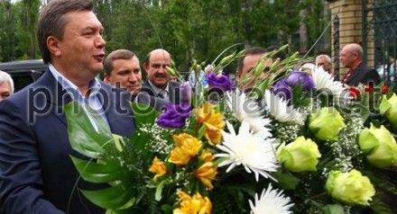 Виктор Янукович отметил 62-летие