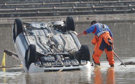 На город Крымск и соседние станицы пришелся самый сильный удар стихии. Фото МЧС России
