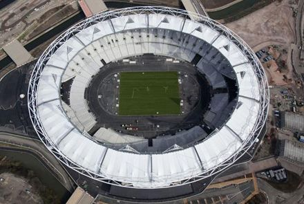 Олимпийский стадон Лондон, фото archi.ru