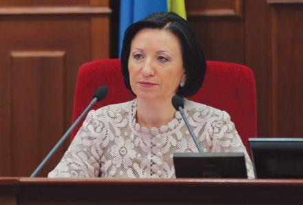 Герега не намерена принимать участие в выборах мэра Киева, фото пресс-служби Киевсовета