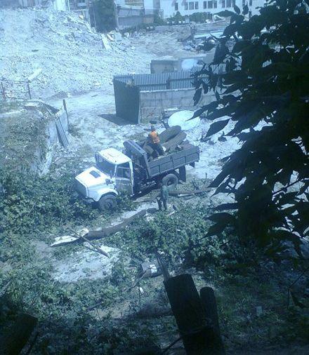 Замкова гора. Фото - Публічна мережа Андріївського узвозу у Фейсбук