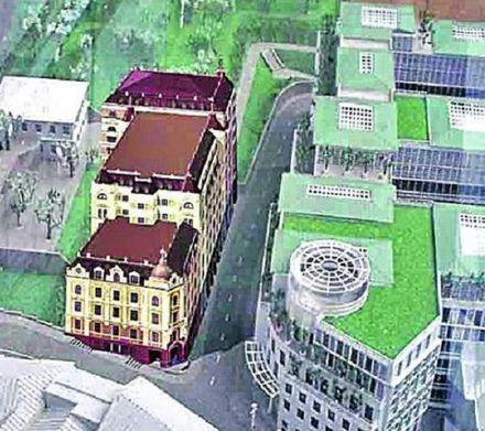 Отель планируется на 7-9 этажей,фото Сегодня