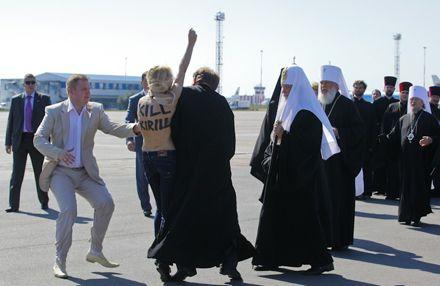 Фото з офіційного сайту Femen